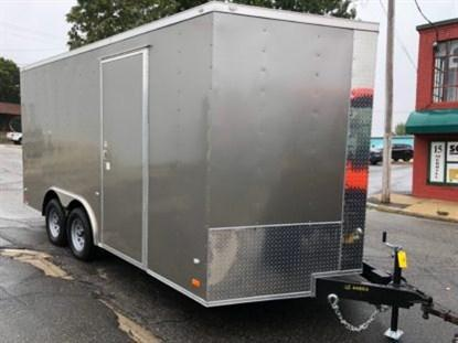 Covered Wagon Gold Series 8.5 x 16 + 2' V Enclosed Car Hauler