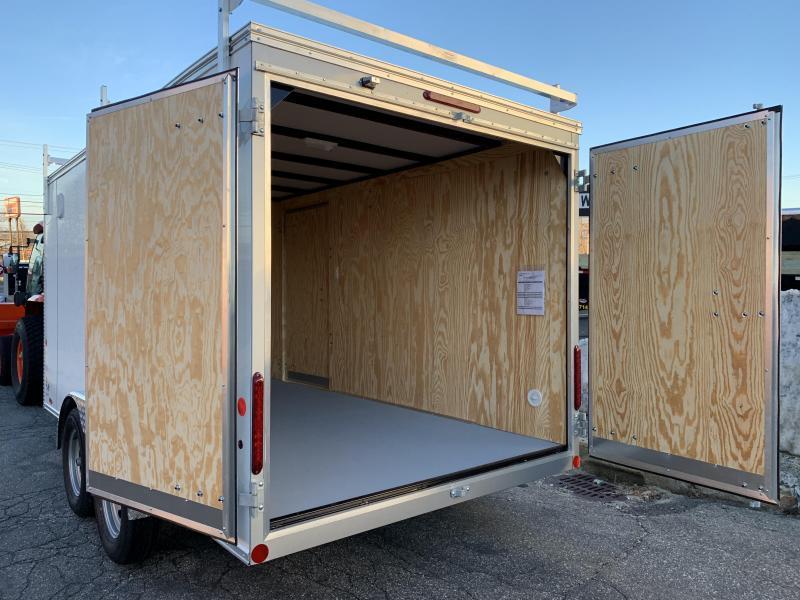 Car Mate 7 x 14 Contractor Trailer w/ Barn Doors