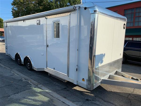 Wells Cargo 8.5 x 24 Aluminum Enclosed Car Hauler