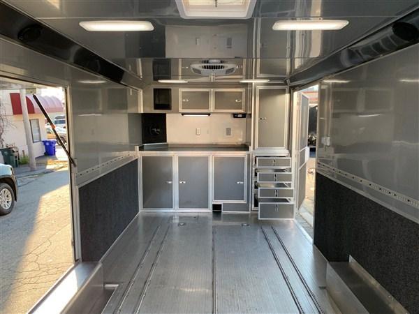 Wells Cargo 8.5 x 24 Aluminum Enclosed Car Hauler