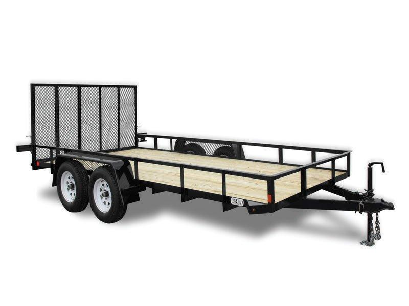 Car Mate 6 x 16 Angle Iron HD Trailer