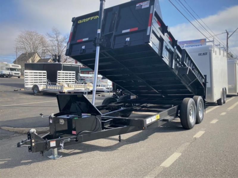 2021 Griffin GT-714 Dump Trailer Telescopic Cylinder