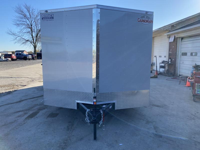 2021 Cargo Mate EHW8.520TA2 Enclosed Cargo Trailer - 8.5x20 TA - Ramp Door - D-Rings - Additional Floor Crossmembers (16 Inch On Center) (GVW:  7000)