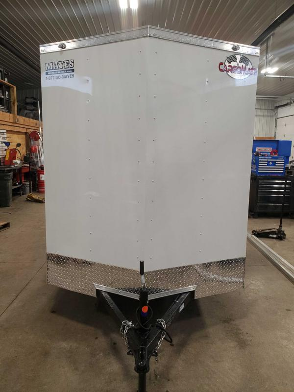 2021 Cargo Mate SSV612SA Enclosed Cargo Trailer - 6x12 SA - Double Door - Spring Suspension - Additional Height of 6 Inch (GVW:  2990)