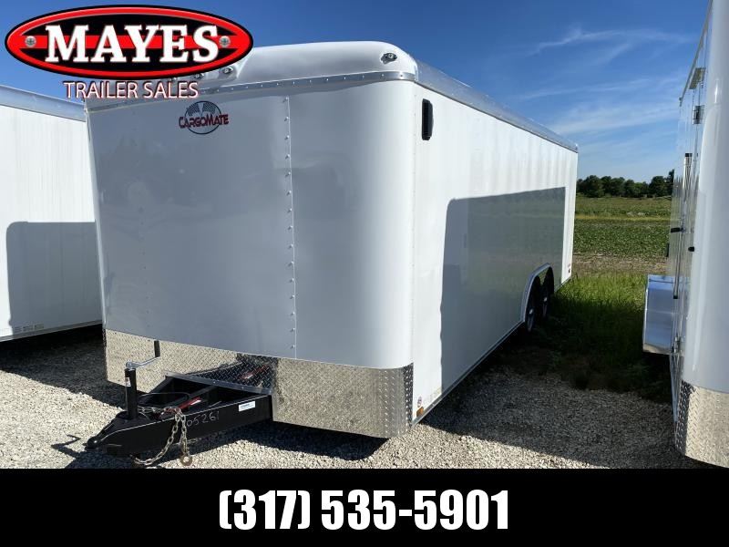 2021 Cargo Mate BL822TA3 Enclosed Cargo Trailer - 102x22 - Torsion - Ramp Door - Side Door - Aluminum Roof (GVW:  9800)