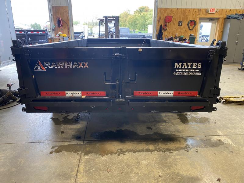 2022 RawMaxx LPX x14-27K Dump Trailer