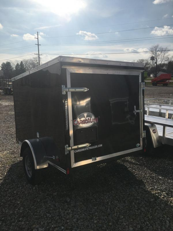 2021 5x8 SA Cargo Mate SS58SA Enclosed Cargo Trailer - 1 Rear Door (GVW:  2000)
