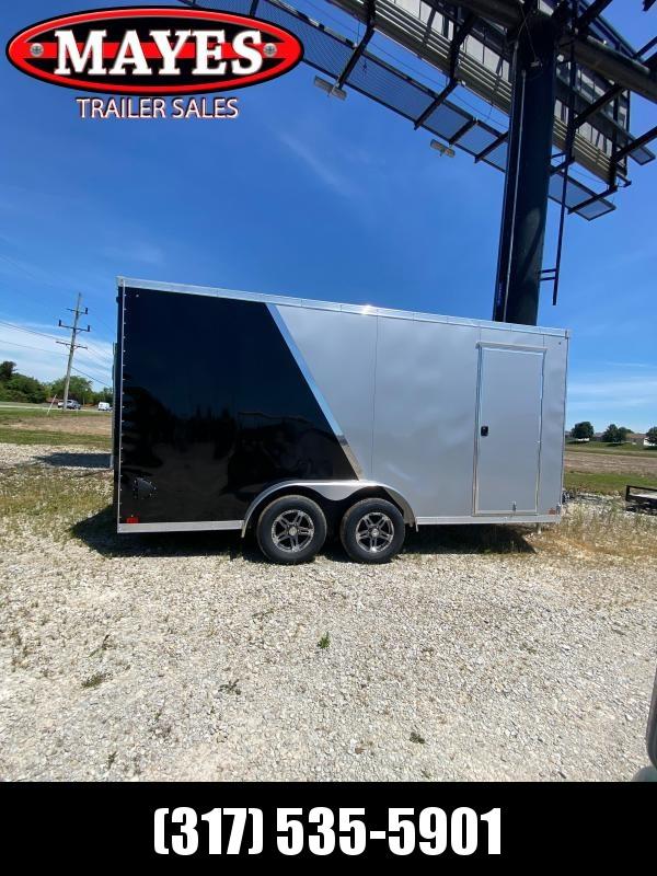 2021 Sport Trailers VECS716TA35-S Enclosed Cargo Trailer - 7x16 TA - Ramp Door - Alum. Wheels - Alum. Roof - 6 Inch Additional Height (GVW:  7700)