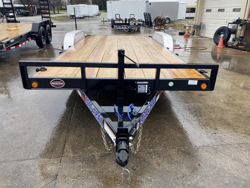 2021 Load Trail XH8318052 Car / Racing Trailer - 83x18 (16+2) TA - 5 Inch Channel Frame - Slide In Ramps - D-Rings (GVW:  9990)