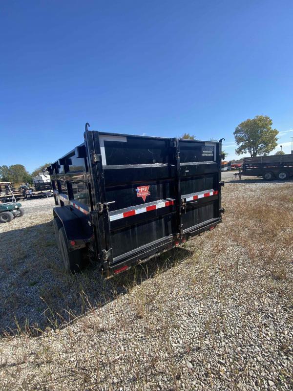 USED 2020 PJ Trailers DM142 Dump Trailer 83x14 TA (GVW:14000)