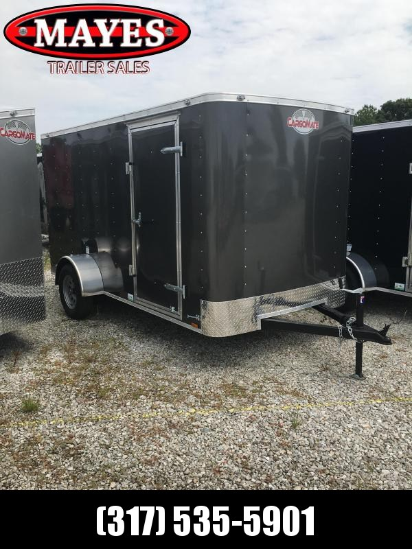 "2021 Cargo Mate SS612SA Enclosed Cargo Trailer - 6x12 SA - Ramp Door - .030 Metal Upgrade - 6"" Additional Height (GVW:  2990)"