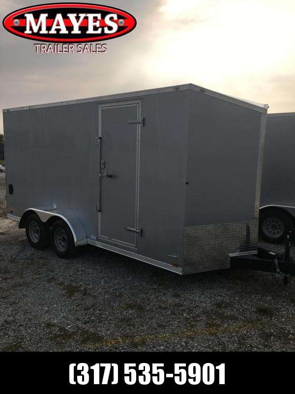 2021 Cargo Mate EHW716TA2 Enclosed Cargo Trailer - 7x16 TA - Ramp Door - Side by Side Package - 12 Inch Additional Height (GVW:  7000)