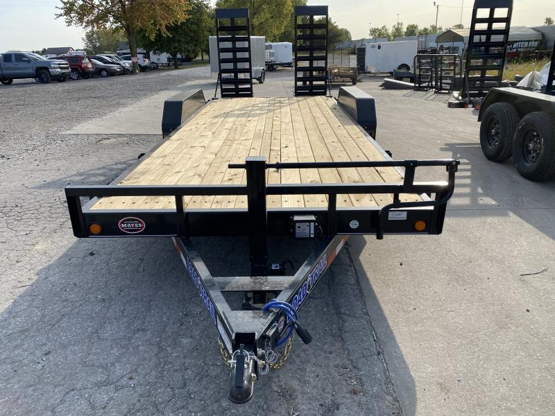 2021 Load Trail XH8320072 Car / Racing Trailer - 83X20 (18+2) TA - Dovetail - Fold Up Ramps - DP Fenders - D-Rings (GVW:  14000)