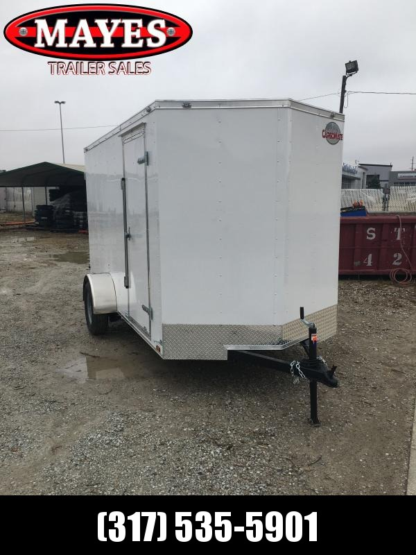 2021 Cargo Mate SSV612SA Enclosed Cargo Trailer - 6x12 SA - Double Door - Side Door - 6 Inch Additional Height (GVW:  2990)