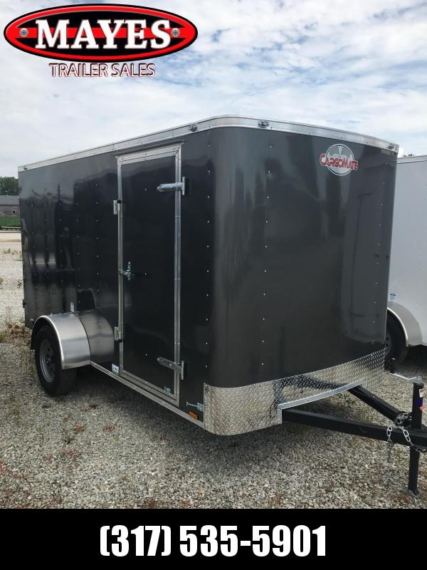 2021 Cargo Mate SS612SA Enclosed Cargo Trailer - 6x12 SA - Double Door - .030 Metal Upgrade - 6 Inch Additional Height (GVW:  2990)