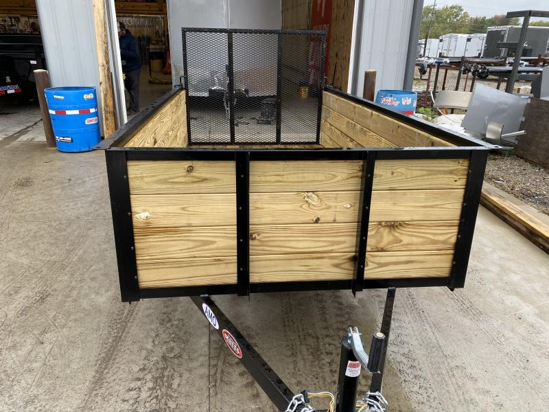 2022 American Manufacturing Operations (AMO) US101 Utility Trailer 60X10 High Wood Side (GVW:2990)