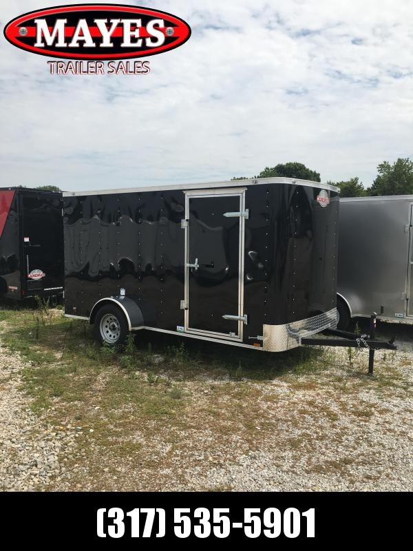 2021 Cargo Mate SS612SA Enclosed Cargo Trailer - 6x12 SA - .030 Metal Upgrade - Ramp Door - 6 Inch Additional Height (GVW:  2990)