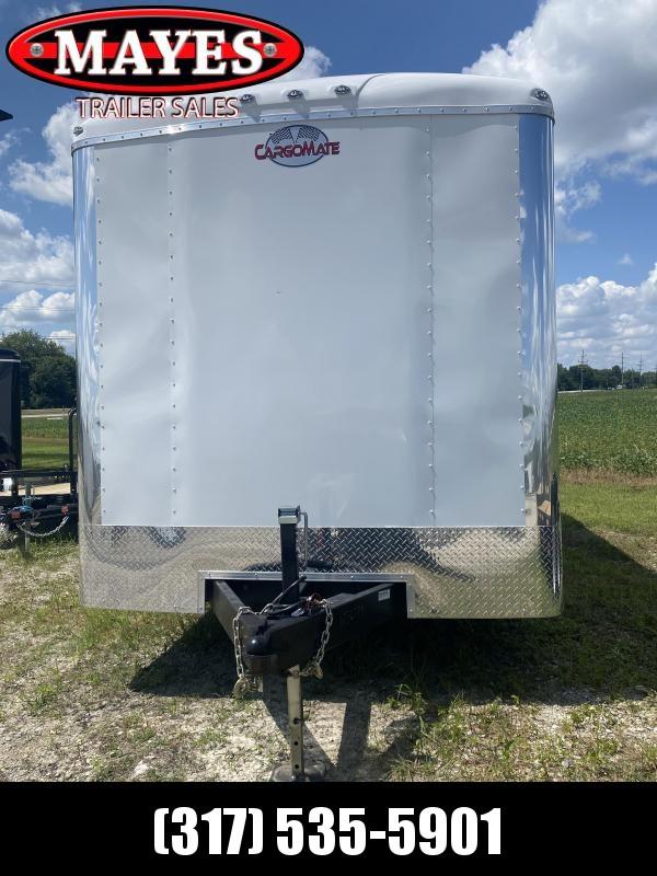 2022 Cargo Mate BL818TA3 Enclosed Cargo Trailer - 8x18 TA - Ramp Door - Side Door - Torsion - Alum. Wheel Upgrade - Alum. Package - HD Cage Package (GVW:  9800)