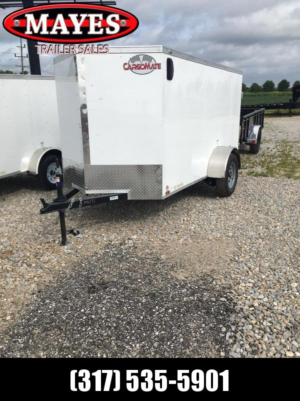 2021 Cargo Mate EHW510SA Enclosed Cargo Trailer - 5x10 SA - Double Door - Side Door (GVW:  2990)