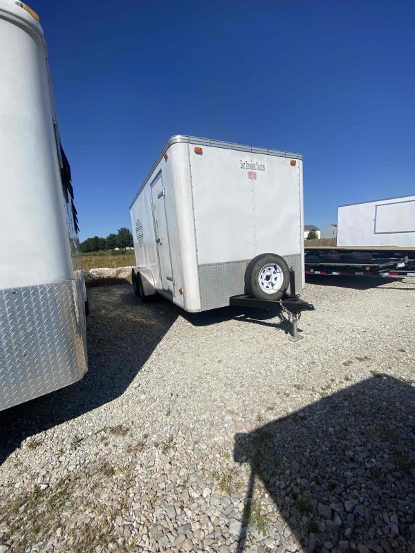 USED 2004 East UNKNOWN Enclosed Cargo Trailer 7x14 Ramp Door (GVW:7000)