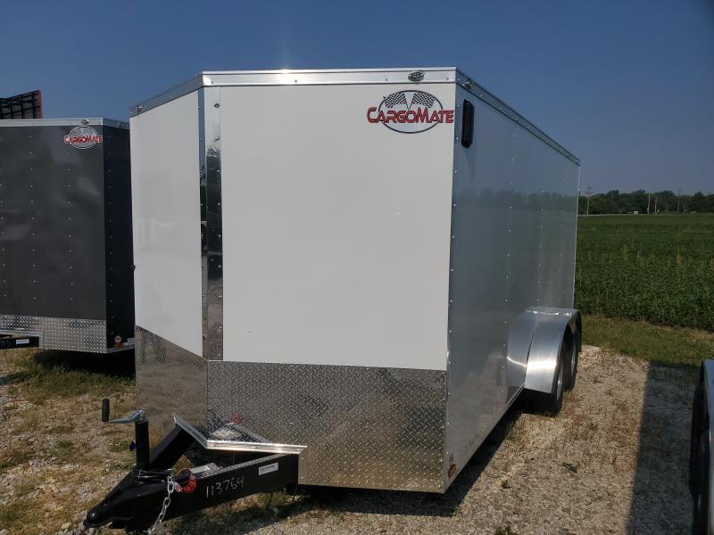 2022 Cargo Mate EHW716TA2 Enclosed Cargo Trailer - 7X16 TA - E/V Pkg. #1 - Double Door - Side Door (GVW:  7000)
