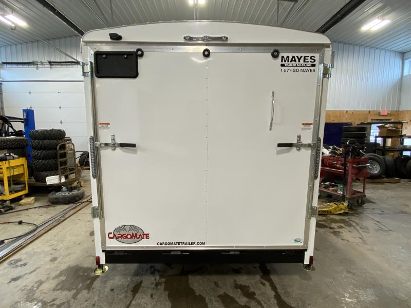2021 Cargo Mate BL716TA2 Enclosed Cargo Trailer - 7x16 TA - Ramp Door - Torsion Axles - E-Track Backer ONLY - Aluminum Roof (GVW:  7000)