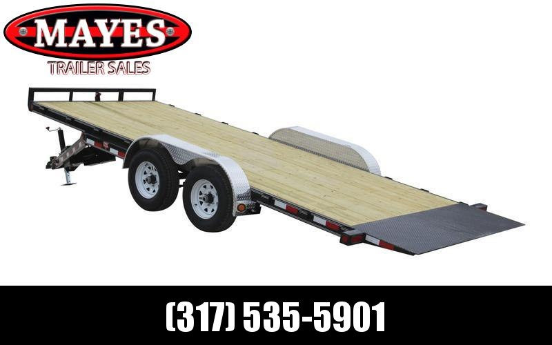 "2021 PJ Trailers 83"" x20' 83"" Hydraulic Quick Tilt (TH Equipment Trailer"