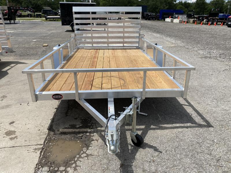 "2021 Sport Haven AUT712 Utility Trailer -7x12 SAUT - Treated Wood Floor - Tailgate - 15"" Tires and Wheels (GVW:  2990)"