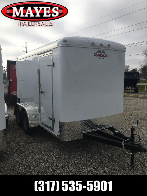 "2021 Cargo Mate BL612TA2 Enclosed Cargo Trailer - 6x12 TA - Double Door - Side Door - 54"" Extended Triple Tube Tongue - Torsion Axle (GVW: 7000)"