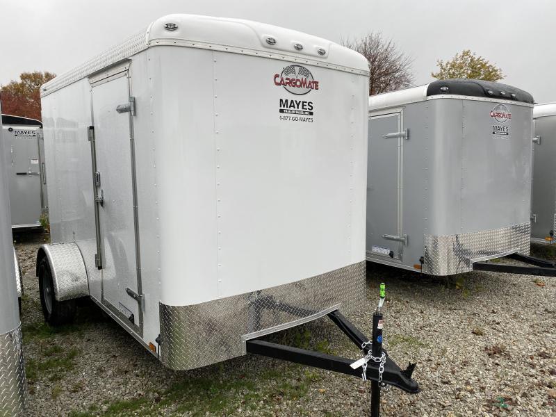 2020 6x10 SA Cargo Mate BL610SA Enclosed Cargo Trailer - Ramp Door - 6 Inch Additional Height (GVW:  2990)
