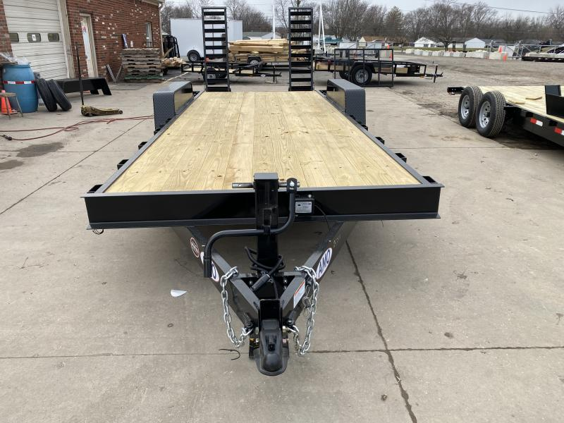 2021 American Manufacturing Operations (AMO) UG202 Equipment Trailer - 82x20 (18+2) TA Equipment - Treated Wood Floor - Dovetail - Stand Up Ramps (GVW:  14000)