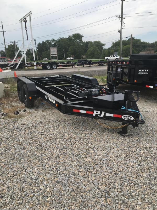 2020 83x14 PJ Trailers DR Roll-Off Trailer - (GVW: 14000)