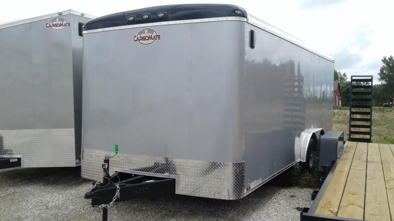 2020 8x20 TA Cargo Mate BL820TA2 Enclosed Cargo Trailer - Ramp Door - Beavertail (GVW:  7000)