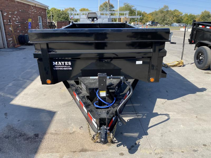 2021 Load Trail DT8314072 Dump Trailer - 83x14 TA Dump - 24 Inch Dump Sides - 2 Way Gate - Slide In Ramps - Scissor Hoist - Tarp Kit - Spare Tire MOUNT ONLY (GVW:  14000)