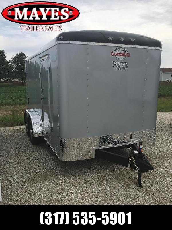 2021 Cargo Mate BL714TA3 Enclosed Cargo Trailer  - 7x14 TA - Ramp Door - Torsion Axles - Alum. Roof (GVW:  9800)