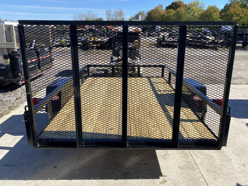 2022 American Manufacturing Operations (AMO) US101 Utility Trailer 76X10 (GVW:2990)