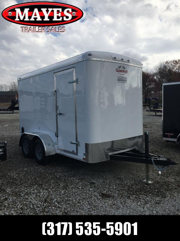 2021 Cargo Mate BL612TA2 Enclosed Cargo Trailer - 6x12 TA - Ramp Door - Torsion Axles - 6 Inch Additional Height (GVW:  7000)