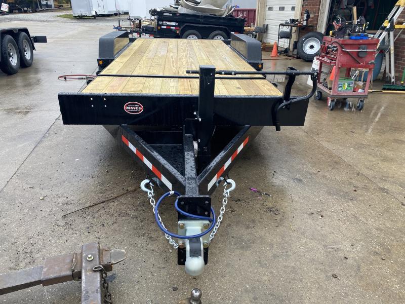 2021 B-B TBCT2016ET Equipment Trailer - 83x20 (4+16) TA Partial Tilt - 12 Inch OC Crossmembers - Torsion Axles - Pallet Fork Holders (GVW:  16000)