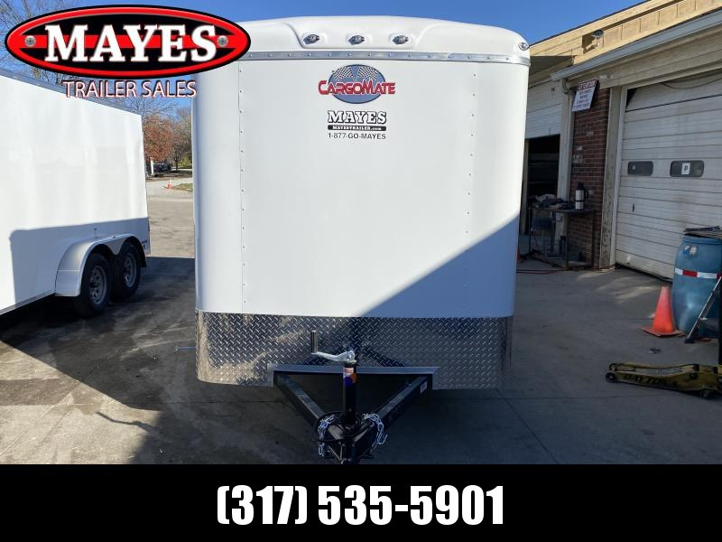 2021 Cargo Mate BL612SA Enclosed Cargo Trailer - 6x12 SA - Double Door with Dual Cambars - Torsion Axle - Aluminum Roof (GVW:  2990)