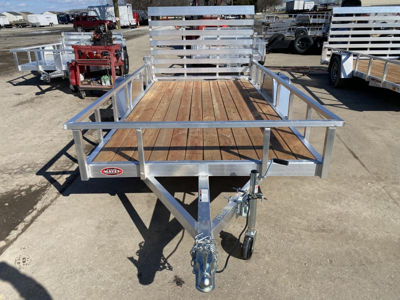 2021 Sport Haven AUT612 Utility Trailer - 6x12 SA - Treated Wood Floor - Standard Gate - 15 Inch Tires and Wheels (GVW:  2990)