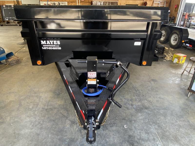 2022 Load Trail DT8314072 Dump Trailer - 83X14 TA -- Scissor Hoist - Tarp Kit - 2 Way Gare - Spare Tire MOUNT ONLY (GVW:  14000)