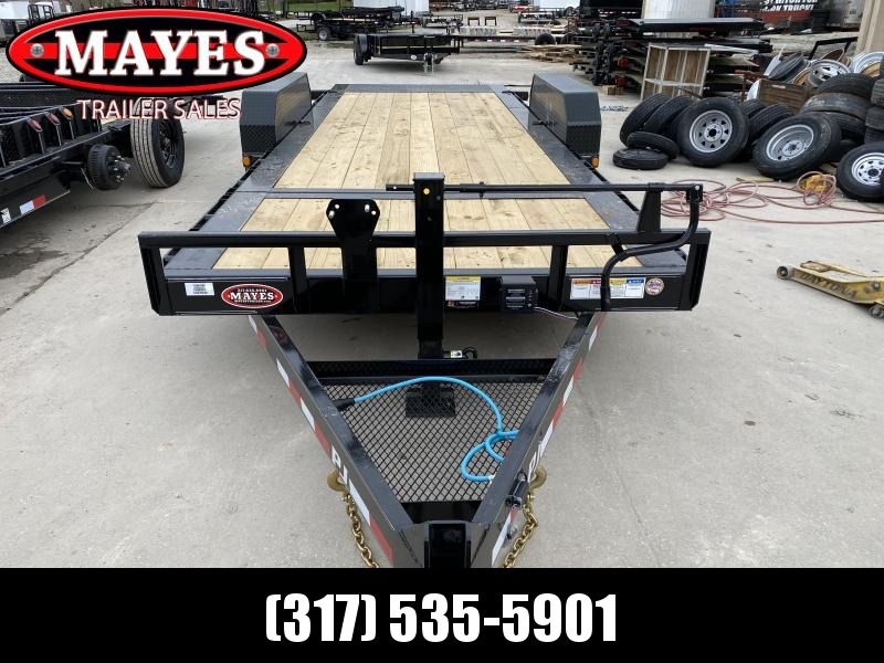 2020 82x20(16+4) PJ Trailers TJ Equipment Tilt Trailer - (GVW: 16000)