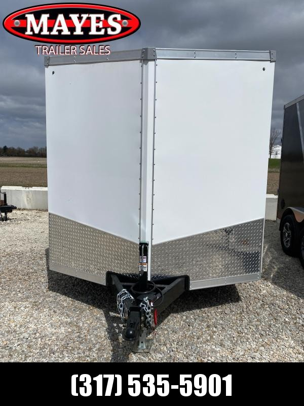 2021 Sport Trailers VECS-712TA35-S Enclosed Cargo Trailer - 7x12 TA - Ramp Door - Alum. Roof - Aluminum Wheel Upgrade (GVW:  7700)