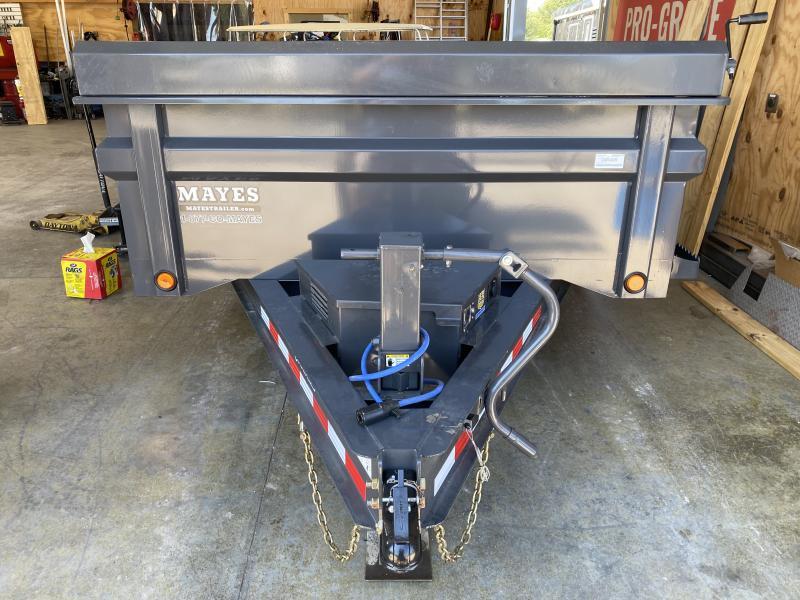 2022 Load Trail DT8314072 Dump Trailer - 83x14 TA - 2-Way Gate - Slide In Ramps - Tarp Kit - Scissor Hoist - Spare Tire MOUNT ONLY - Tool Tray (Shovel Tray) Under Dump Bed (GVW:  14000)