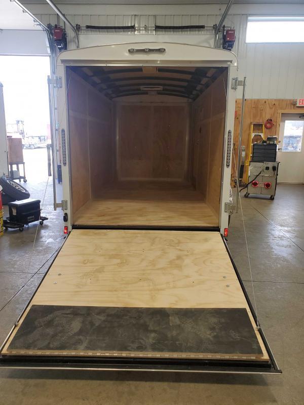 2021 Cargo Mate BL612SA Enclosed Cargo Trailer - 6x12 SA - Ramp Door - Side Door - Torsion Axle (GVW:  2990)