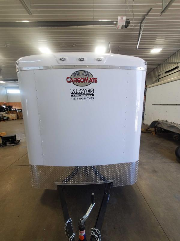 2021 Cargo Mate BL612SA Enclosed Cargo Trailer - 6x12 SA - Ramp Door - Side Door - Torsion Axle (GVW:  2990)