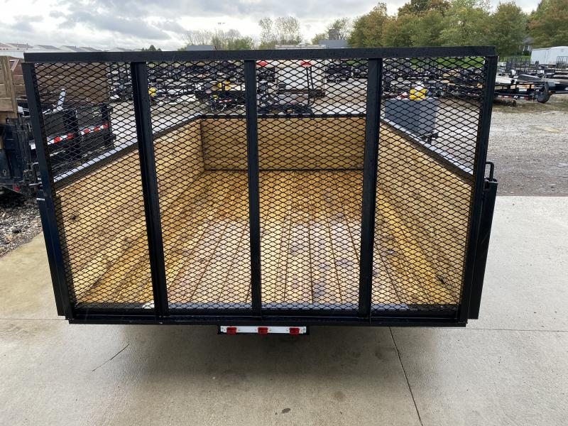 2022 American Manufacturing Operations (AMO) US101 Utility Trailer 76X10 High Wood Side (GVW:2990)