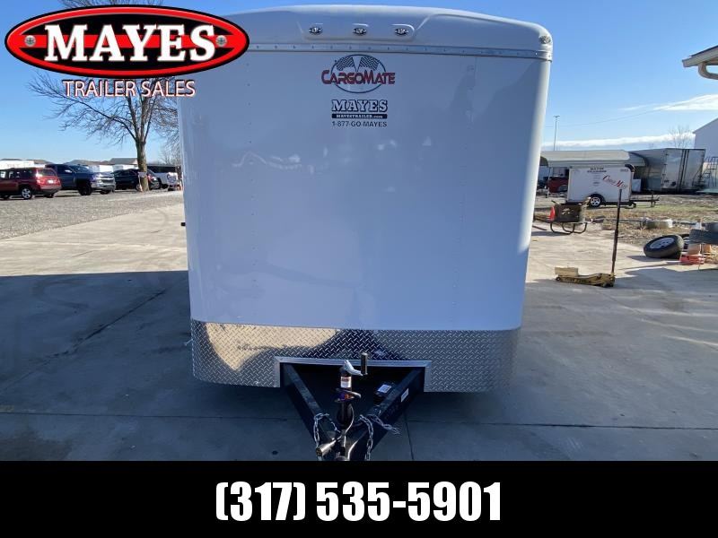 2021 Cargo Mate BL716TA2 Enclosed Cargo Trailer - 7x16 TA - Double Door with Dual Cambars - Torsion Axles - Alum. Roof (GVW:  7000)