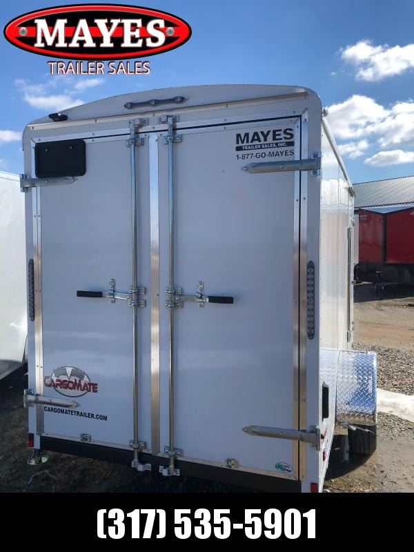 2022 Cargo Mate BL612SA Enclosed Cargo Trailer - 6x12 SA - Double Door with Dual Cambars - 6 Inch Additional Height - Insulated Ceiling with Vinyl Liner - Alum. Roof (GVW:  2990)