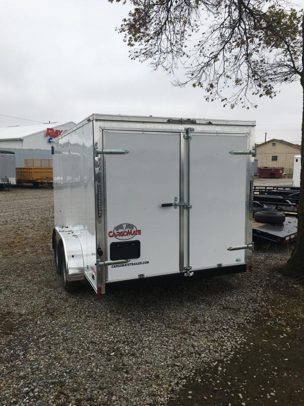 2021 Cargo Mate EHW714TA2 Enclosed Cargo Trailer - 7x14 TA - Double Door - Spring Suspension (GVW:  7000)